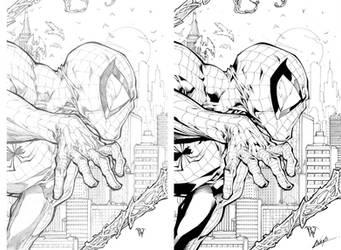 Spiderman by inkeravan