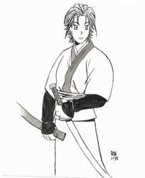 Swordswoman by brin5tar