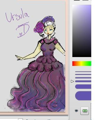 Ursula iscribble by TasLDaeD