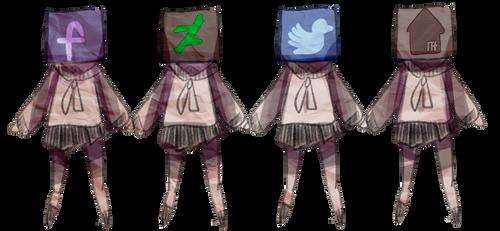 social media chans by wanco-alien