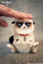 Grumpy Cat by Flicker-Dolls