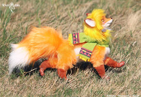 Red Fox by Flicker-Dolls