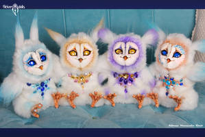 Colorful Owls. New! by Flicker-Dolls
