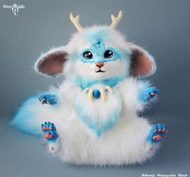 The Snow Beast by Flicker-Dolls