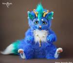 Blue Dragon-Cat