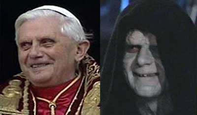 Pope Benedict  Sith Lord by Suraii