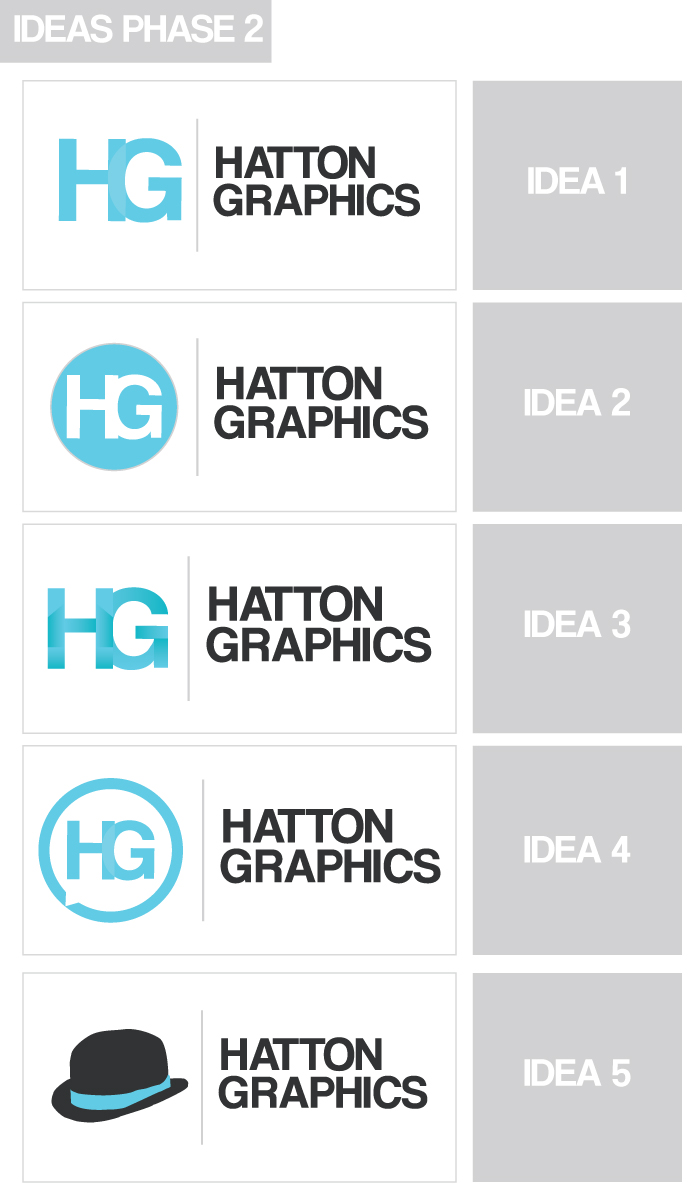 Personal Logo Design Phase 2 By HattonGraphics