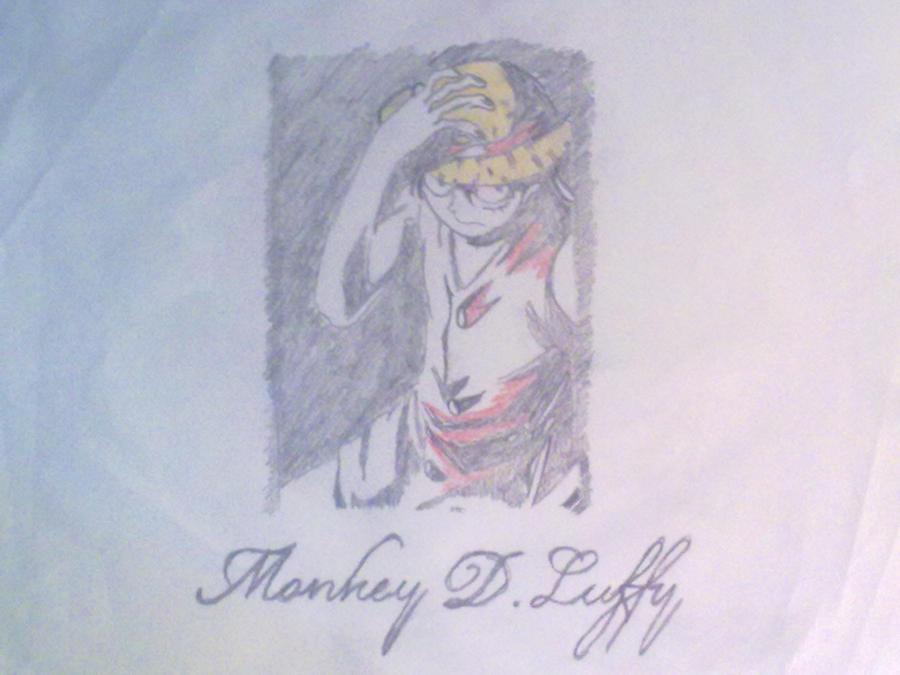 monkey d luffy by piragelos