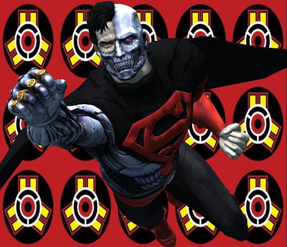 Injustice Gods Among Us Superman Cyborg By Corporacion08