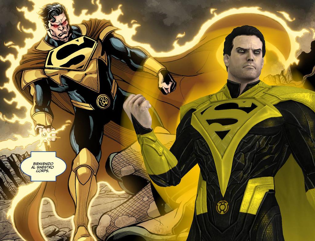 yellow lantern superman - HD1024×786