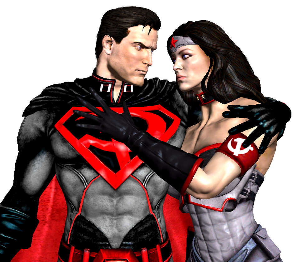 Injustice God Superman and Wonder Woman red son by corporacion08Red Son Wonder Woman Injustice