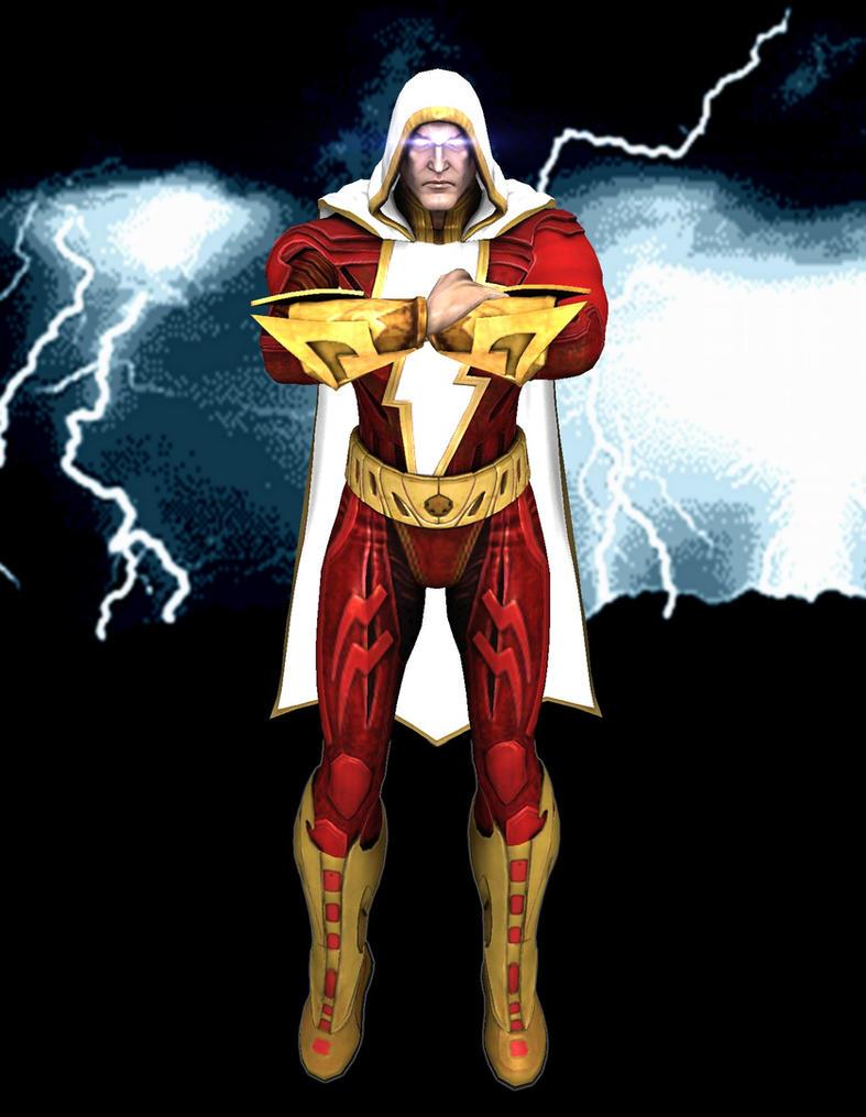 Injustice Gods Among Us Shazam By Corporacion08