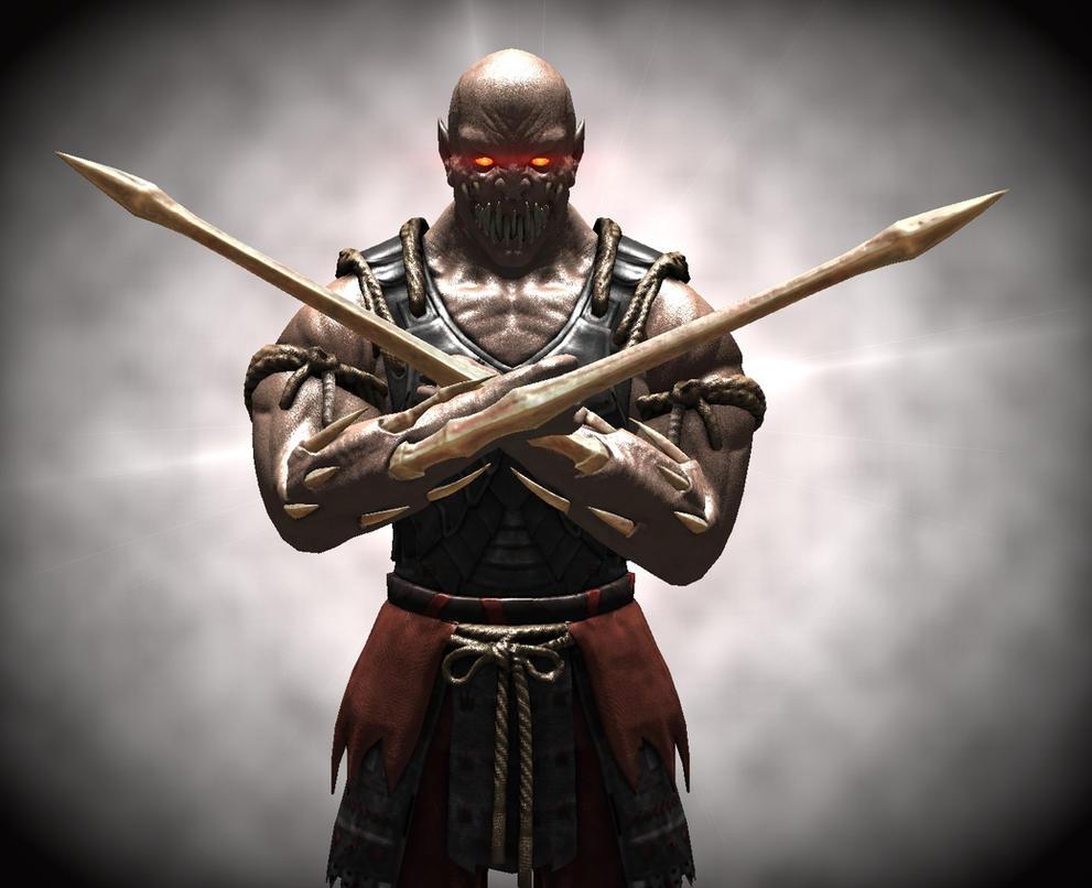 Mortal Kombat X baraka by corporacion08 on DeviantArt
