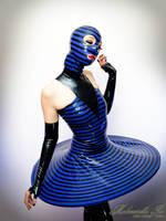 Mademoiselle Ilo - Plan 9 dress with hood - Model  by Mademoiselle-Ilo