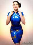 Mademoiselle Ilo - Madame Butterfly latex dress -