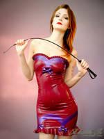 Mademoiselle Ilo - Betty latex dress - Model Comte by Mademoiselle-Ilo