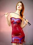 Mademoiselle Ilo - Betty latex dress - Model Comte