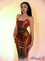 Mademoiselle Ilo - Josephine latex dress - Model S by Mademoiselle-Ilo