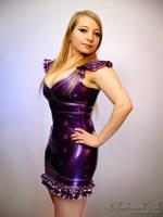 Mademoiselle Ilo - Babydoll latex dress - Model Ja