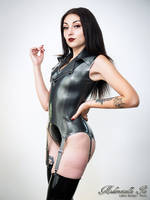 Mademoiselle Ilo - Perfekto latex basque - Model S by Mademoiselle-Ilo