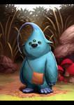 Si Monster Biru