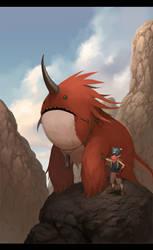 Si Monster Merah