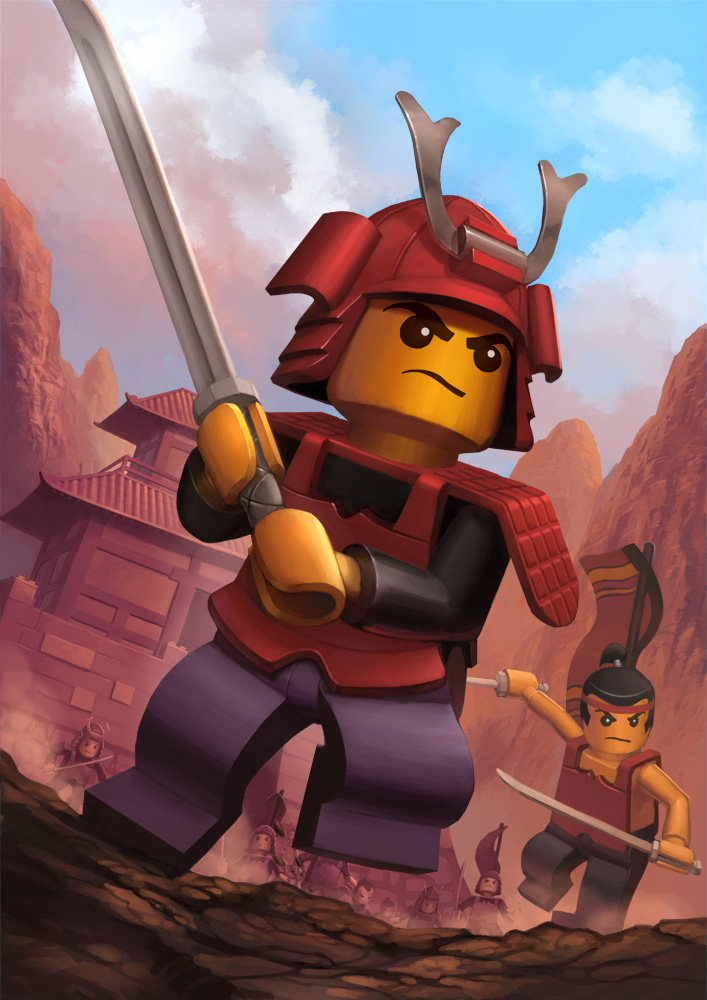 Lego Samurai by AnggaSatriohadi