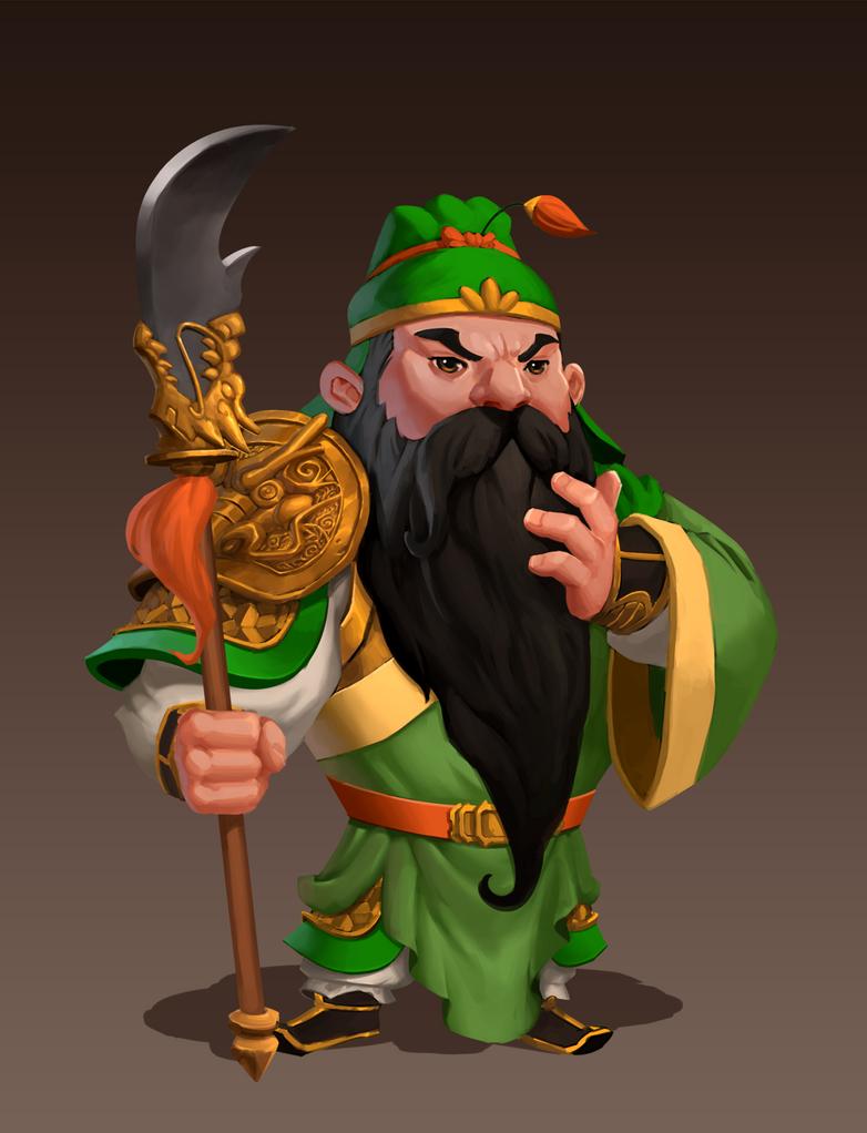 Guan Yu by AnggaSatriohadi