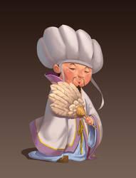 Zhuge Liang by AnggaSatriohadi