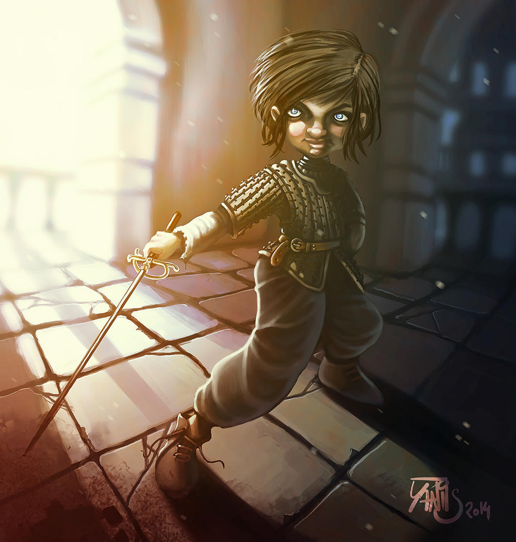 Digital painting de Traaw : Digit en vrac Arya_by_traaw-d7pvywy