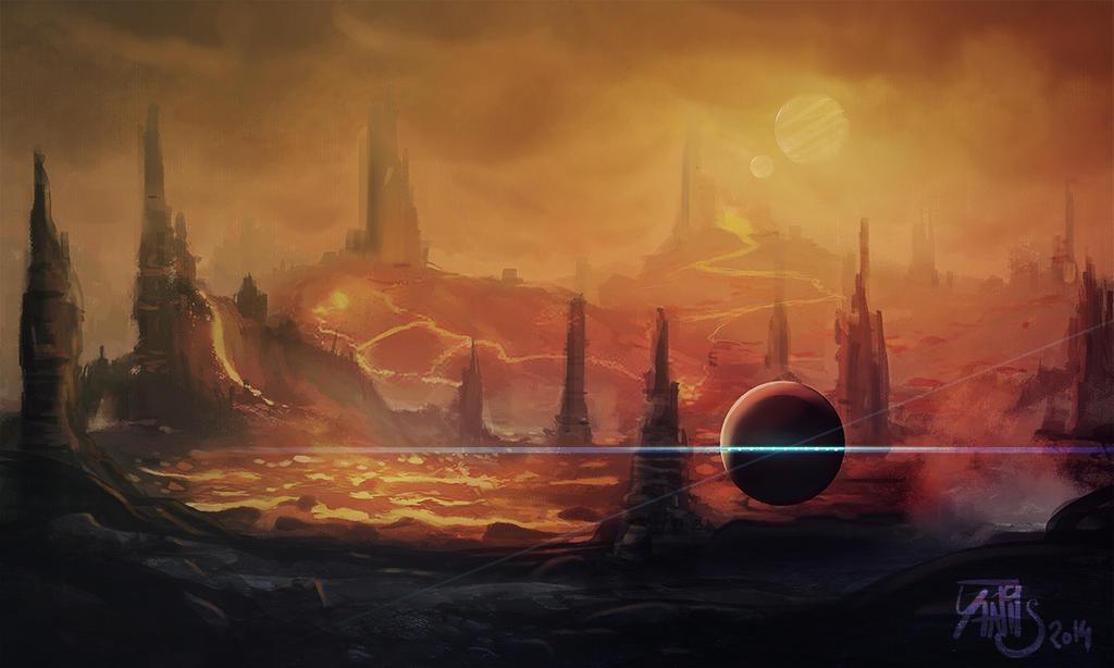Digital painting de Traaw : Digit en vrac Red_938_by_traaw-d7qrc22