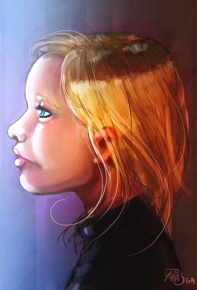 Digital painting de Traaw : Digit en vrac Children_by_traaw-d7xnh6m