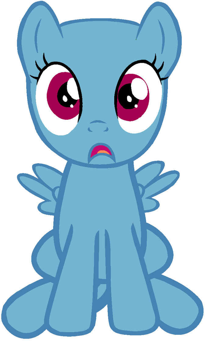 mlp pegasus base filly wwwimgkidcom the image kid