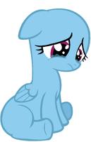 Filly Pegasus Crying by saramanda101