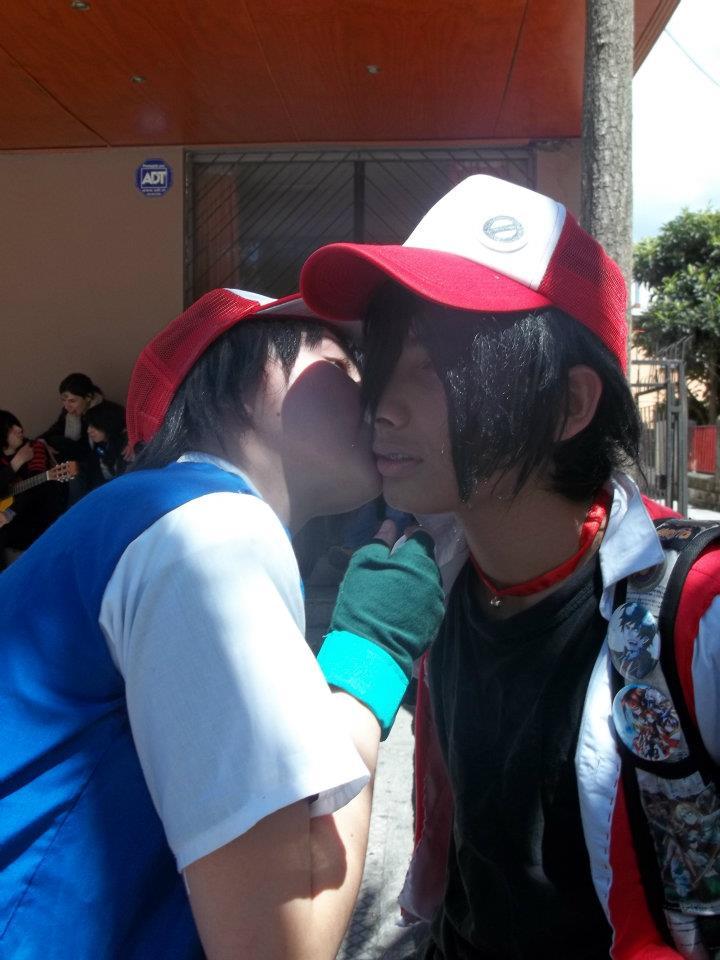 ash x red pokemon cosplay by nekouchihahandita6 on