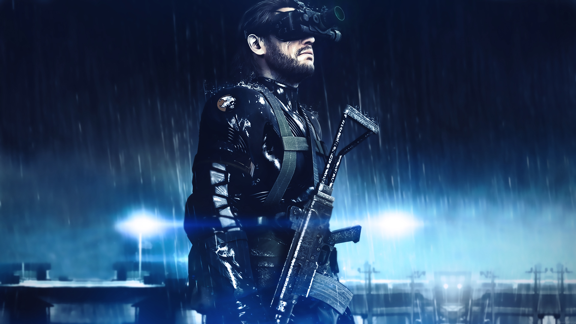 Metal Gear Solid Ground Zeroes Hd Wallpaper By Keereeyos On Deviantart