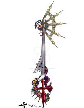 Sorceress Knight Keyblade design