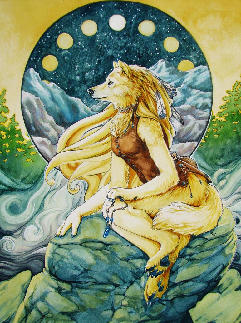 Seven Moons by akdreamweaver