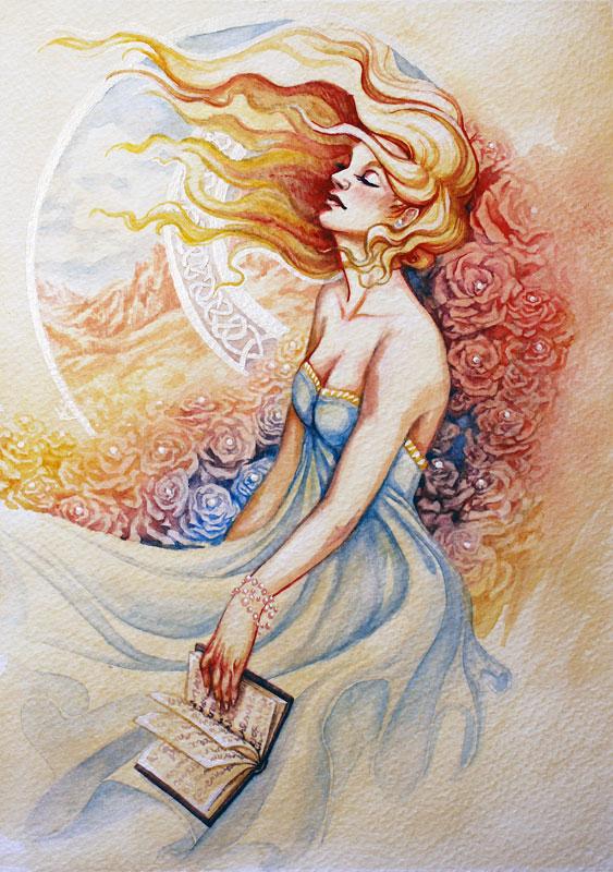 Rose's Book by akdreamweaver