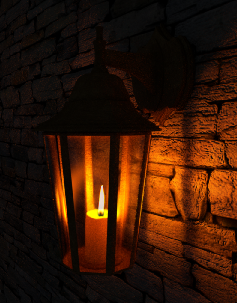 Old Lamp (Blender) By JakubWieczorek ...