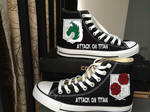 Custom Hand Painted Shoes from MyPaintedShoes.com