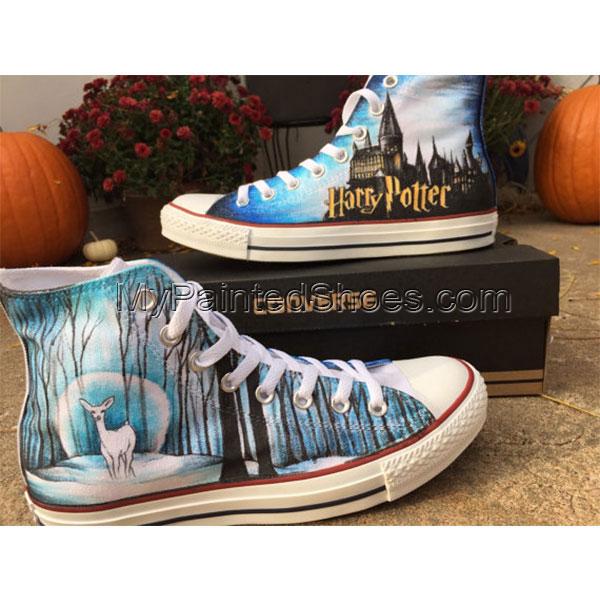 scarpe harry potter converse