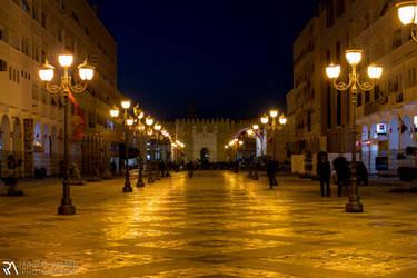 100 Metres, Sfax centre ville by achrafrannen