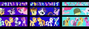Archer Intro Pony Tile by adecoy95
