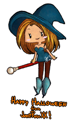 ID - OgreBattle 64 Witch by JuneRoseXX