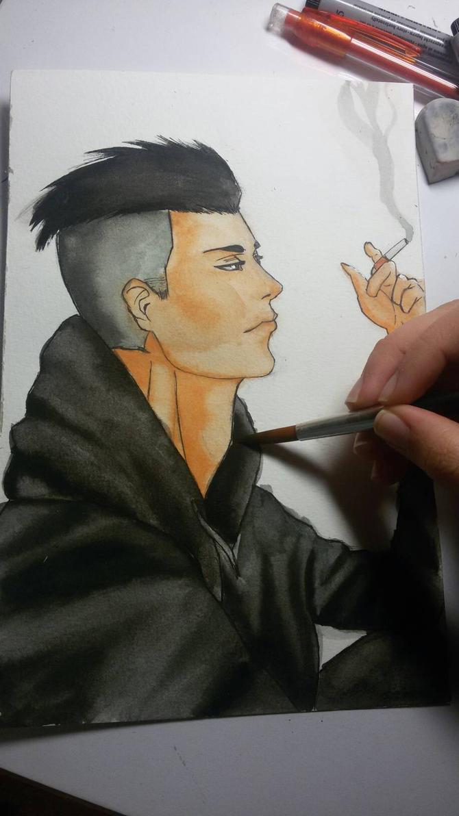 Smoking by rafaT007