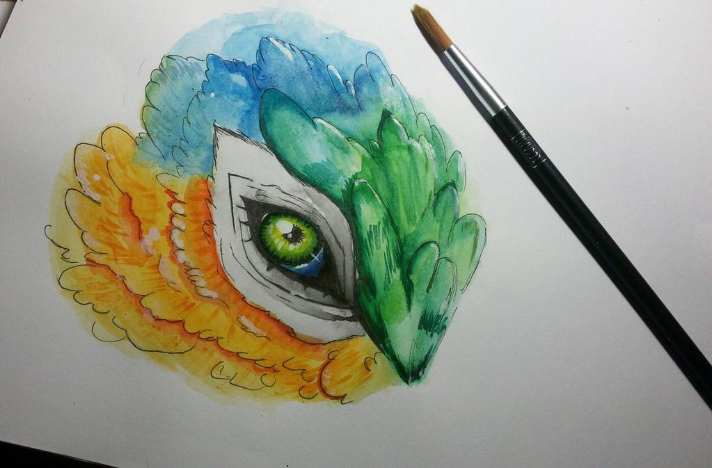 Eye Of The Wind Dragon by rafaT007