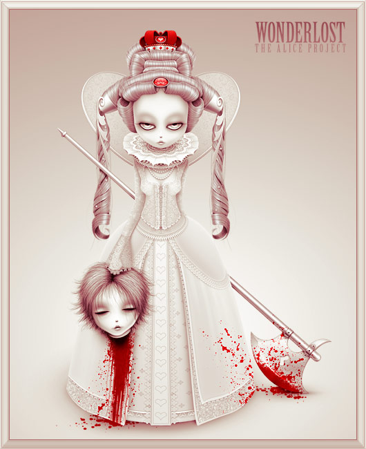Wonderlost: Queen of Hearts by xanthic