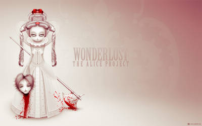 Wonderlost: Queen of Hearts WP by xanthic