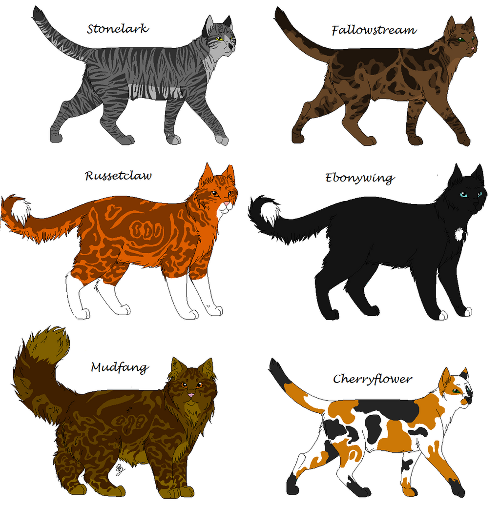the gallery for gt warrior cats clan leaders